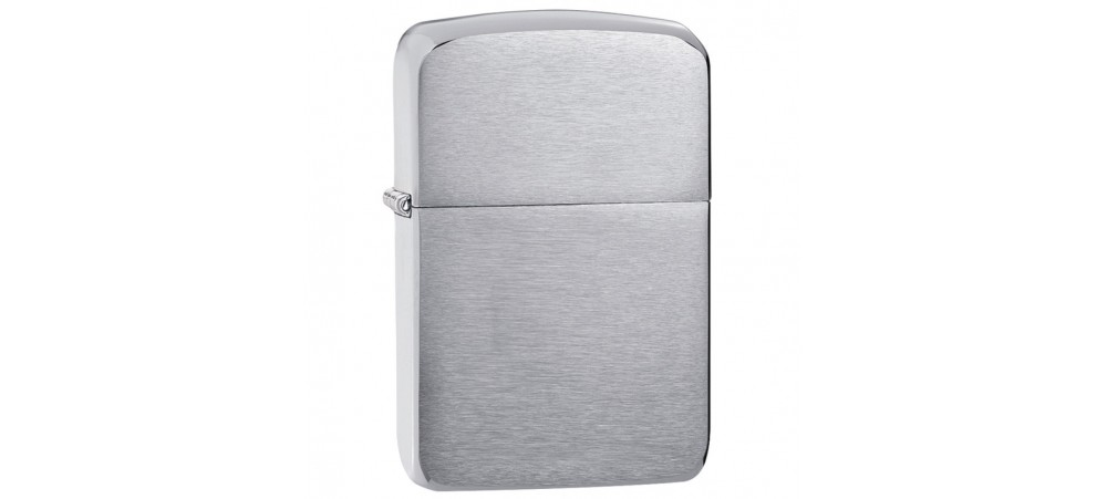 Zippo 1941 Replica™ Windproof Lighter - Brushed Chrome Finish