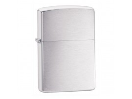 Zippo Regular Windproof Lighter - Brushed Chrome - 200