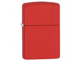 Zippo 233 233ZL With or Without Zippo Logo Classic Windproof Lighter - Red Matte Finish