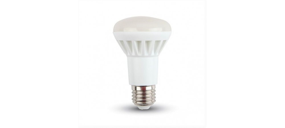E27 Edison Screw 8W LED 3000k R63 Classic Series Warm White Bulb - V-TAC - 1 / 5 / 10 Bulbs
