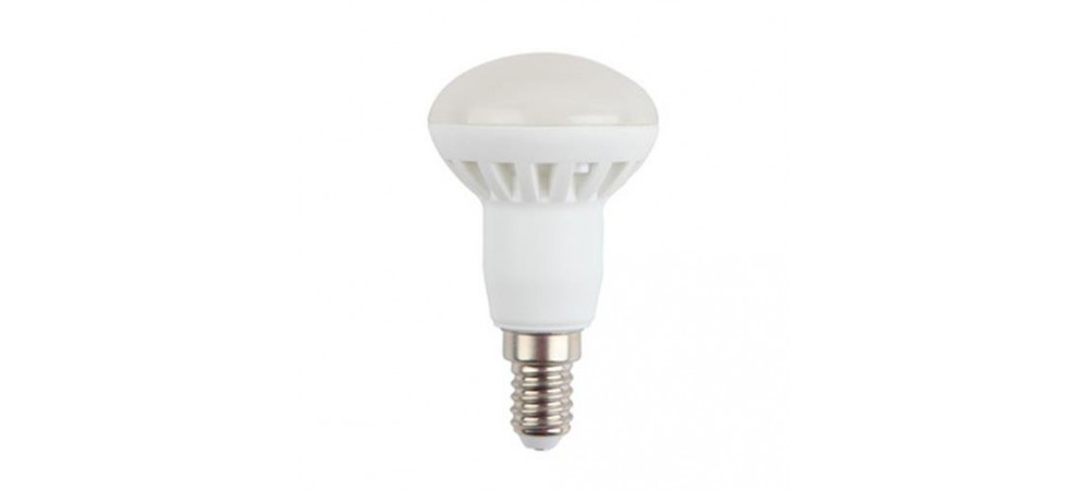 E14 Small Edison Screw 6W LED R50 6000k Daylight Bulb - VTAC - 1 / 5 / 10 Bulbs