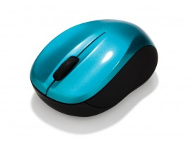 GO NANO Wireless Mouse - Caribbean Blue - Verbatim - 49044