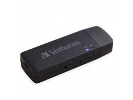 Verbatim Mediashare Mini - Wireless microSD Card Reader - 49160