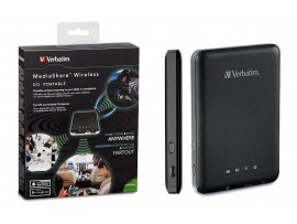Verbatim MediaShare Wireless Streaming Device - 98243
