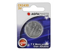 Agfaphoto CR2430 3V Lithium Coin Battery
