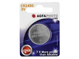 Agfaphoto CR2450 3V Lithium Coin Battery