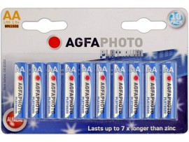 Agfaphoto AA Platinum Extreme Alkaline Batteries - 10 Pack