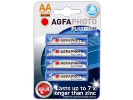 Agfaphoto AA Platinum Extreme Alkaline Batteries - 4 Pack