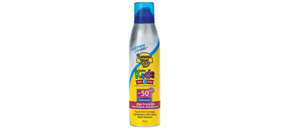 Kids Ultramist Tearfree Protection Sun Spray SPF 50 175ml - Banana Boat