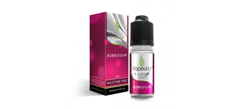 Bubblegum Flavour E-Liquid 10ml - Vapouriz