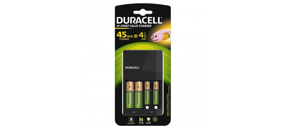 4 Hour Battery Charger AA / AAA - CEF14 - Duracell