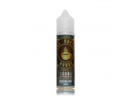 Coconut Cappuccino 50ml Shortfill E-Liquid by The Coffee House SUB OHM MAX VG