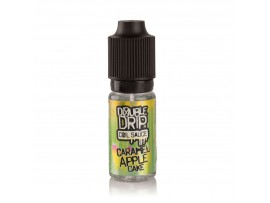 Caramel Apple Cake (Vanilla, Apple & Caramel) Coil Sauce E-Liquid by Double Drip (10ml) SUB OHM MAX VG