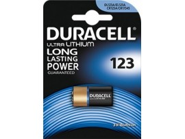 Duracell 123 3V Photo Lithium Ultra Battery