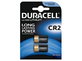 Duracell CR2 3V Photo Lithium Ultra - 2 Pack