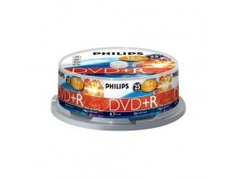 Philips DVD+R 16X 4.7GB - 25 Pack Spindle