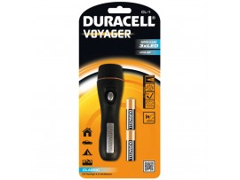 Duracell Voyager CL-1 Rubber Torch with 2 AA Batteries