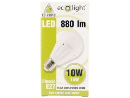 GLS 10W E27 / ES 980 Lumens Warm White Dimmable LED Bulb