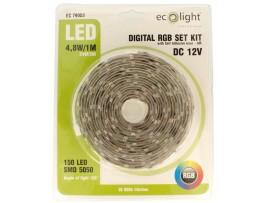 24W Digital RGB set kit 150 LED 5M - Self Adhesive Base