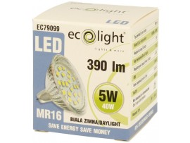 MR16 5W 390 Lumens Daylight LED Bulb