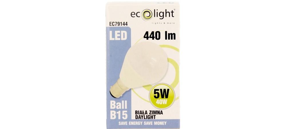 GOLF 5W B15 / SBC 440 Lumens Daylight LED Bulb