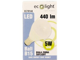 GOLF 5W B15 / SBC 440 Lumens Daylight LED Bulb