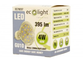 GU10 4W / 40W Daylight LED 395 Lumens Bulb