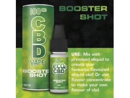 CBD E-Liquid Hemp Oil Booster Shot - Add to any Eliquid - Full Spectrum - 10ML - 100MG / 200MG / 300MG / 500MG