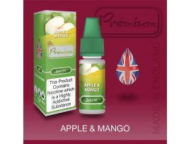 Apple & Mango Flavour E-Liquid 10ml - Eco Vape Premium