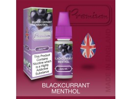 Blackcurrant Menthol Flavour E-Liquid 10ml - Eco Vape Premium - 50VG/50PG - 18MG
