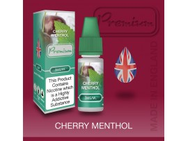 Cherry Menthol Flavour E-Liquid 10ml - Eco Vape Premium - 50VG/50PG - 6MG