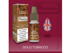 CLEARANCE BEST BEFORE FEB 2020 - 6MG 12MG Gold Tobacco Flavour E-Liquid 10ml - Eco Vape Premium