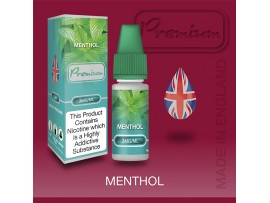 CLEARANCE BEST BEFORE DATE Aug 2019 - 18MG Menthol Flavour E-Liquid 10ml - Eco Vape Premium