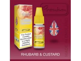 Rhubarb and Custard Flavour E Liquid 10ml - Eco Vape Premium