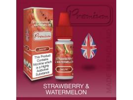 Strawberry & Watermelon Flavour E-Liquid 10ml - Eco Vape Premium