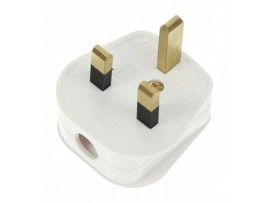 13 Amp 3 Pin Electric Plug Top