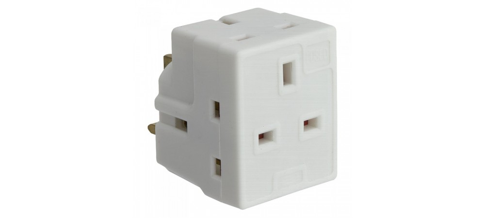 3 Way Mains Adaptor
