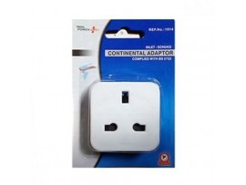 Travel Adapter Plug: UK 3 Pin to 2 Pin USA / Australia / Canada