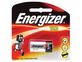 Energizer CR123 3V Photo Lithium Battery