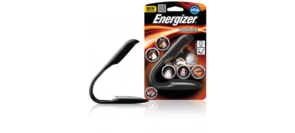 Booklite with 2 CR2032 batteries included - Energizer