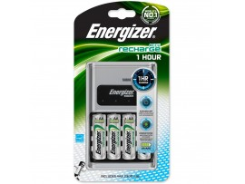 Energizer 1 Hour Charger with Four AA Batteries