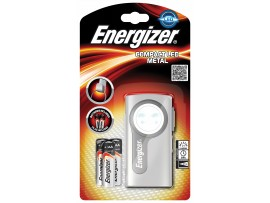 Energizer Compact 2 LED Torch with 2 AA Batteries included