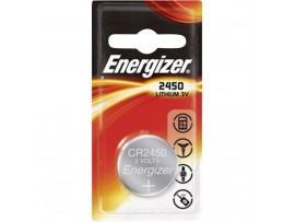 Energizer CR2450 3V Lithium Coin Batteries - 2 Pack