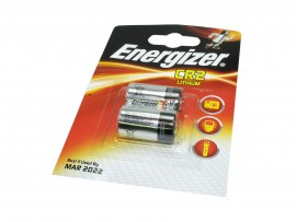Energizer CR2 3V Lithium Photo Batteries - Twin Pack