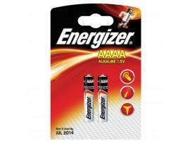 Energizer AAAA / MN2500 Alkaline Batteries - 2 Pack