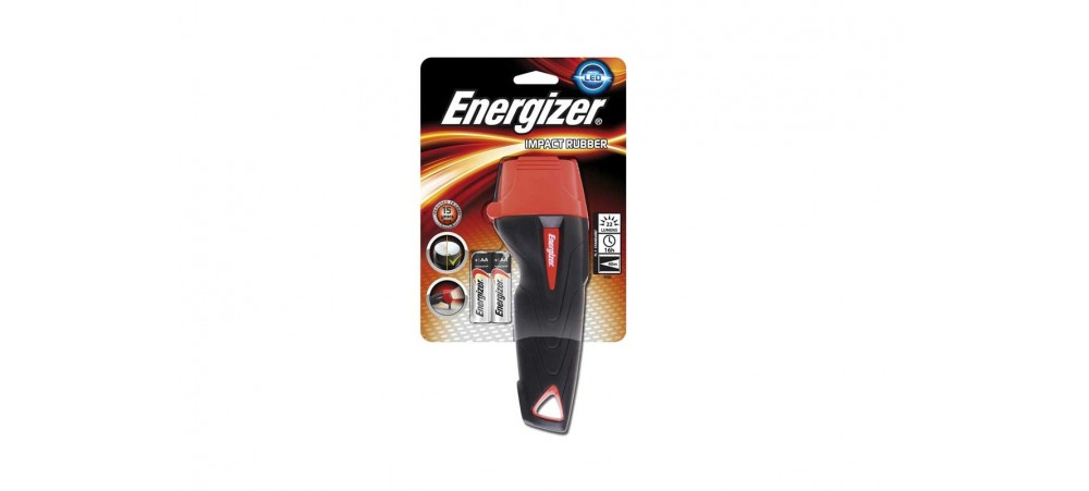 Energizer Impact Heavy Duty Torch with AA Batteries included
