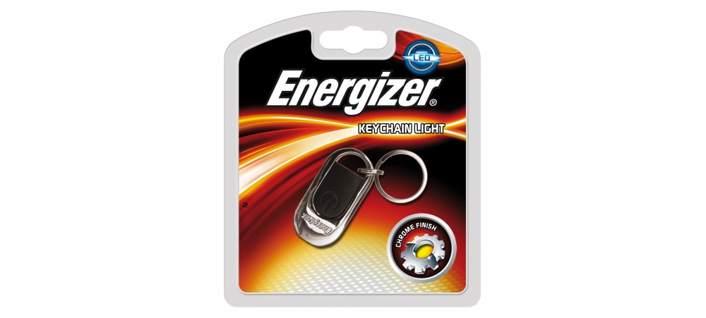 Energizer LED Keychain light with 2 x CR2016 batteries included