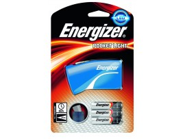 Energizer Pocket LED Torch with 3 AAA batteries - Colour may vary