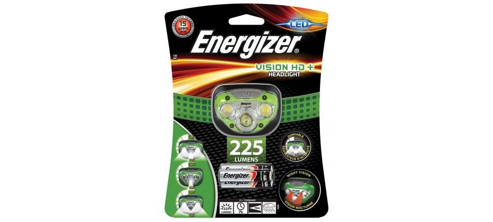 Energizer Vision HD+ Headlight 225 Lumens
