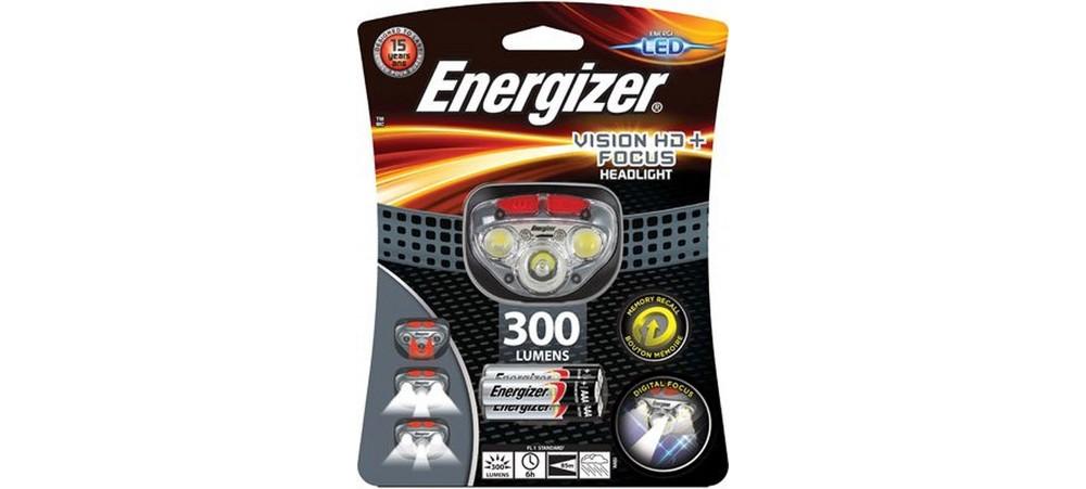 Energizer Vision HD+ Focus HeadLight 300 Lumens